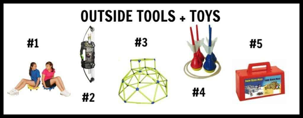 outdoor tools and toys for kids who love adventure and the great outdoors