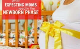 Expecting mother must haves for the yummy newborn phase
