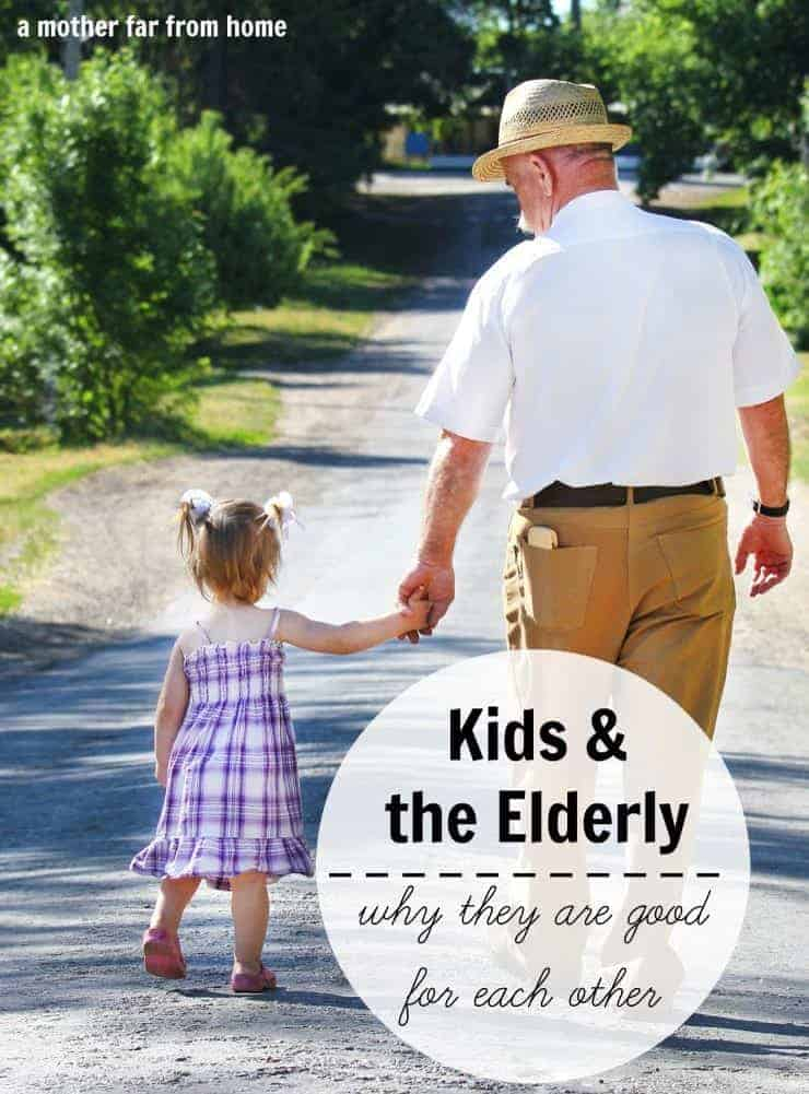 It's good for kids to be around elderly people and vice versa. Here are some reasons why it's good to let your kids be around their grandparents and elders.