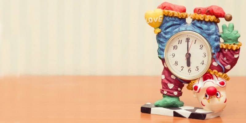 clown clock great to use to helping keep rhythms for kids