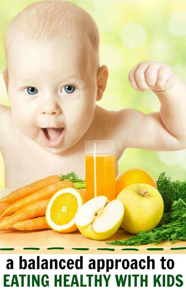 A balanced approach to eating healthy with kids
