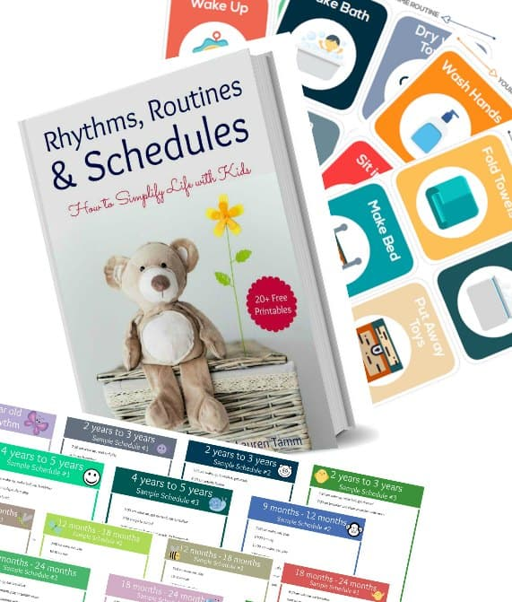 stay at home mom daily routine pack