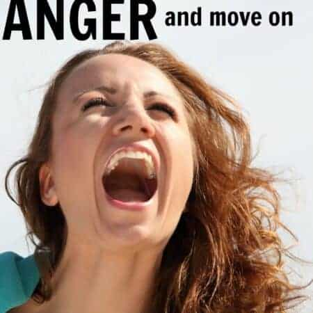 A fast way to release anger and move on