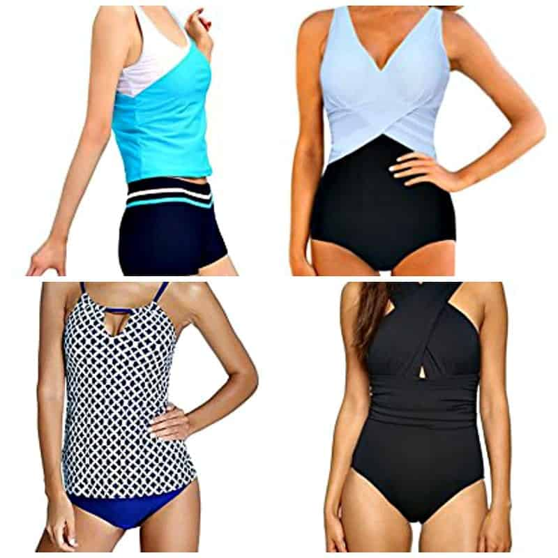 cute and modest swimsuits for moms