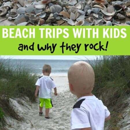 Why beach trips are great for kids
