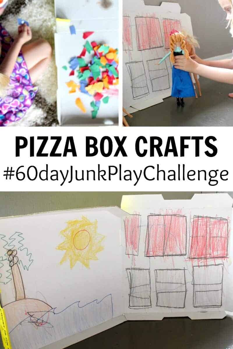 pizza box crafts