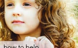 """How to help your daughter """"grow into"""" her curls and love her curly hair. Plus some tips and tricks to make managing curly hair a lot easier."""
