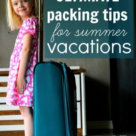 Ultimate Packing Tips for Summer Vacations With Toddlers & Preschoolers