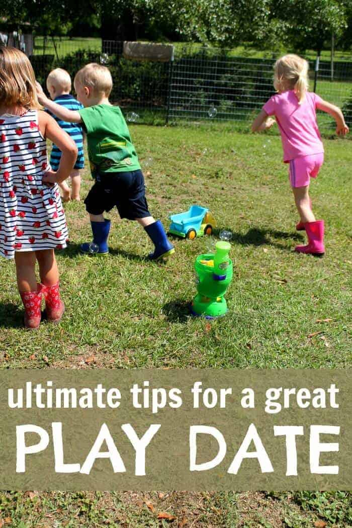 ultimate tips for a great play date