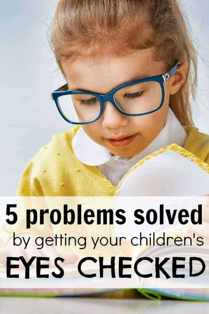 5 problems solved by getting your children's eyes checked