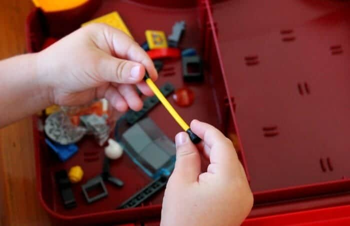 LEGO Tips for Little Ones, here are some ways to keep them organized and to prevent sibling fighting