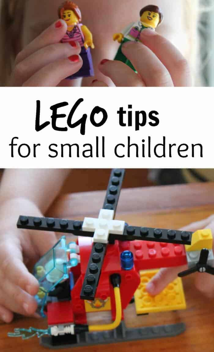 LEGO tips for small children