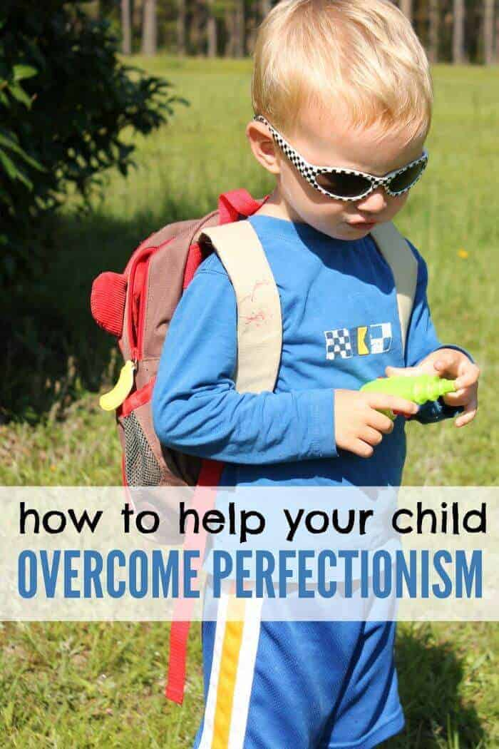 Is your child a budding perfectionist? Here are some tips and ways you can help your child overcome perfectionism.