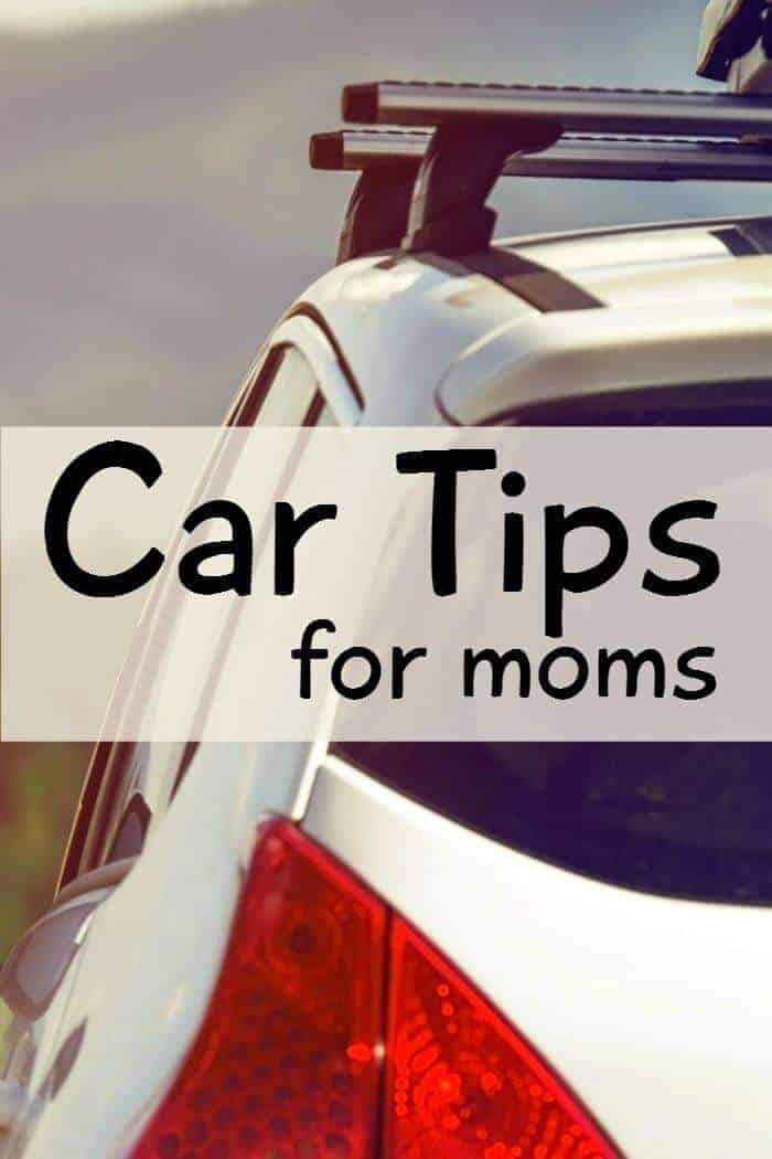 car tips for moms