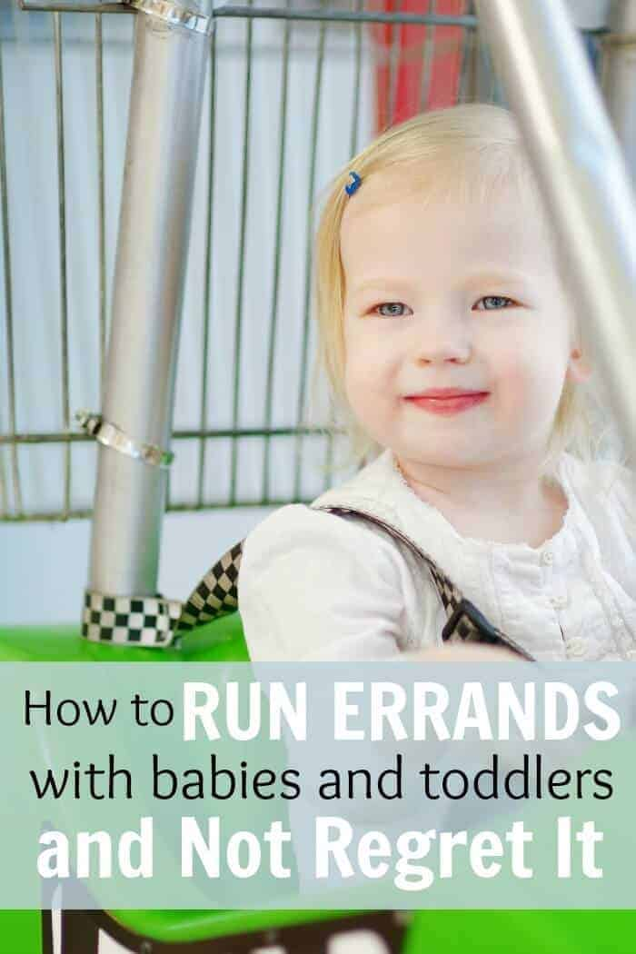 Mothers of babies and toddlers need to read these tips on how to run errands without regerting it. It can be stessful but it can be done!