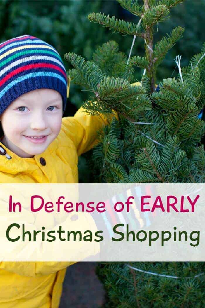 Are you an early Christmas shopper? So many people hate the thought of preparing beforehand, but here's my case for it!