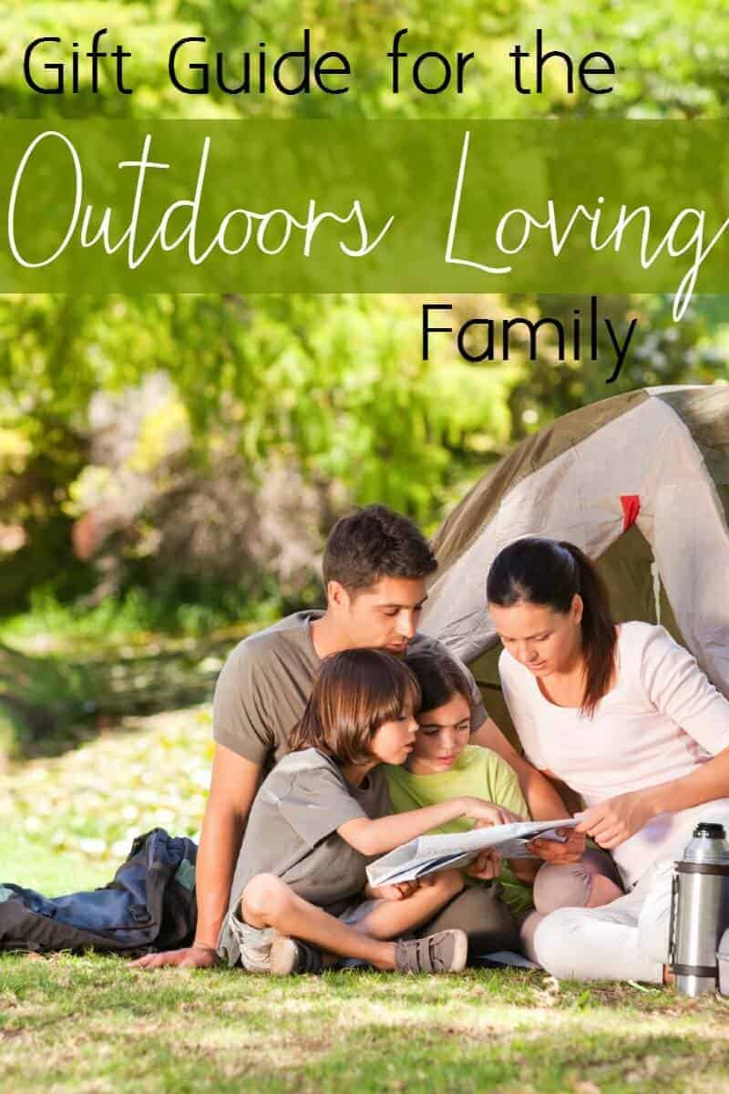 Gift Guide for the outdoor loving family