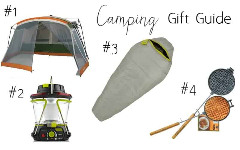 camping gift guide for families