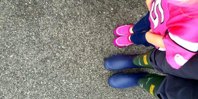shoes raising leader