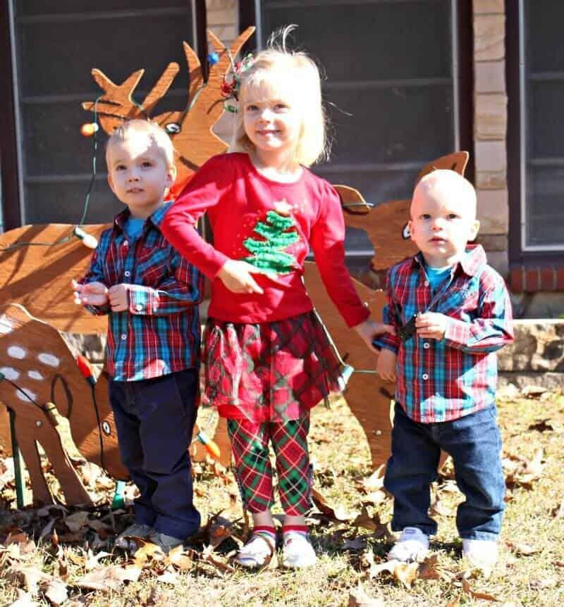 christmas reindeer up