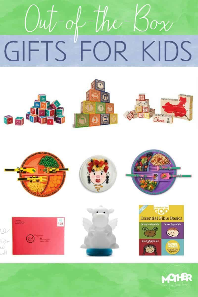 Out of the box gifts for kids they will love