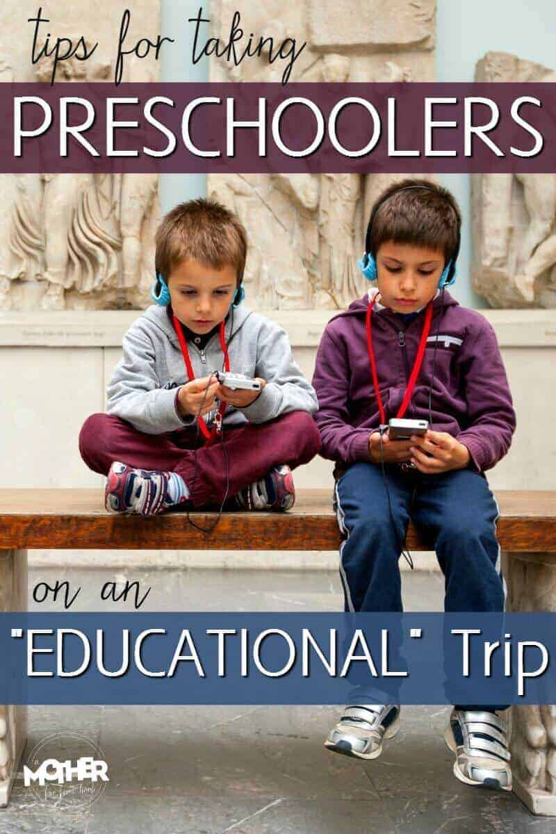 Ever wanted to take your preschoolers on an educational trip? Here are some tips to help it go smoothly