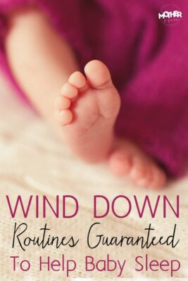 Does your baby or toddler fight sleep? Here are some wind down routines that will help your baby get in the mood to sleep. They make bedtime a breeze!