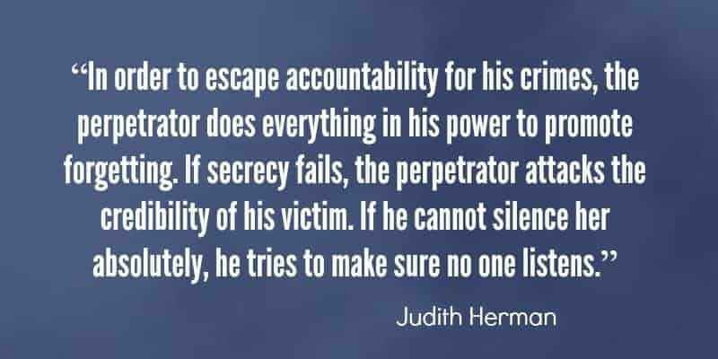quote by judith herman
