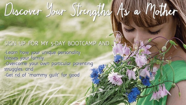 discover your strength as a mother by signing up to a 5 day bootcamp