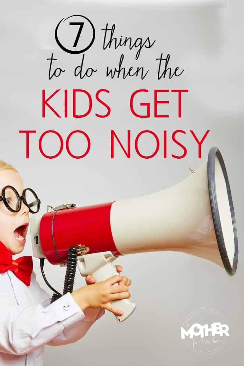 noisy kid talking through a megaphone