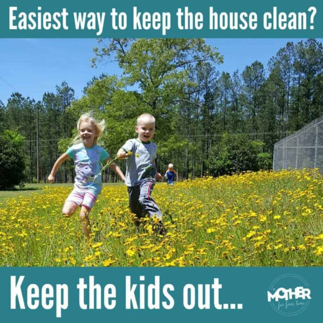 keep kids out