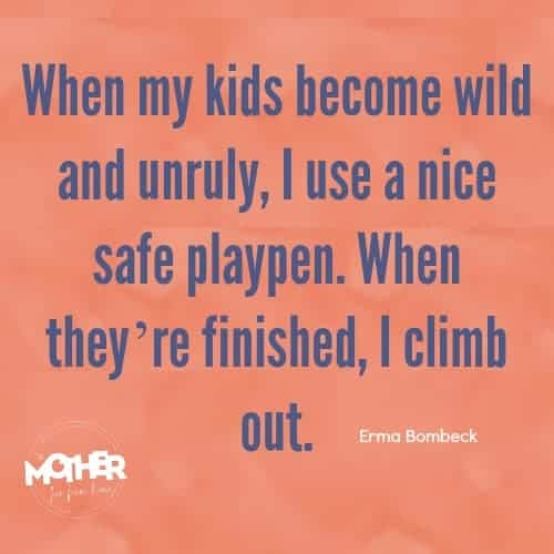 quote by Erma Bombeck