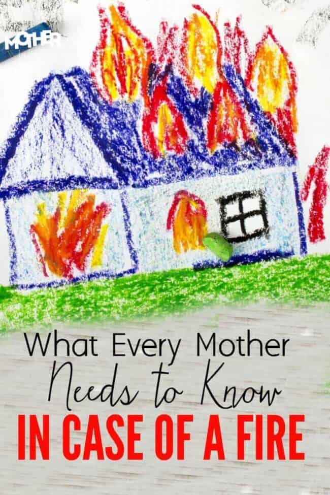 A must read for mothers. Here are some fire safety tips and what to do in case of a fire if you have small children. A great read before an emergency happens.