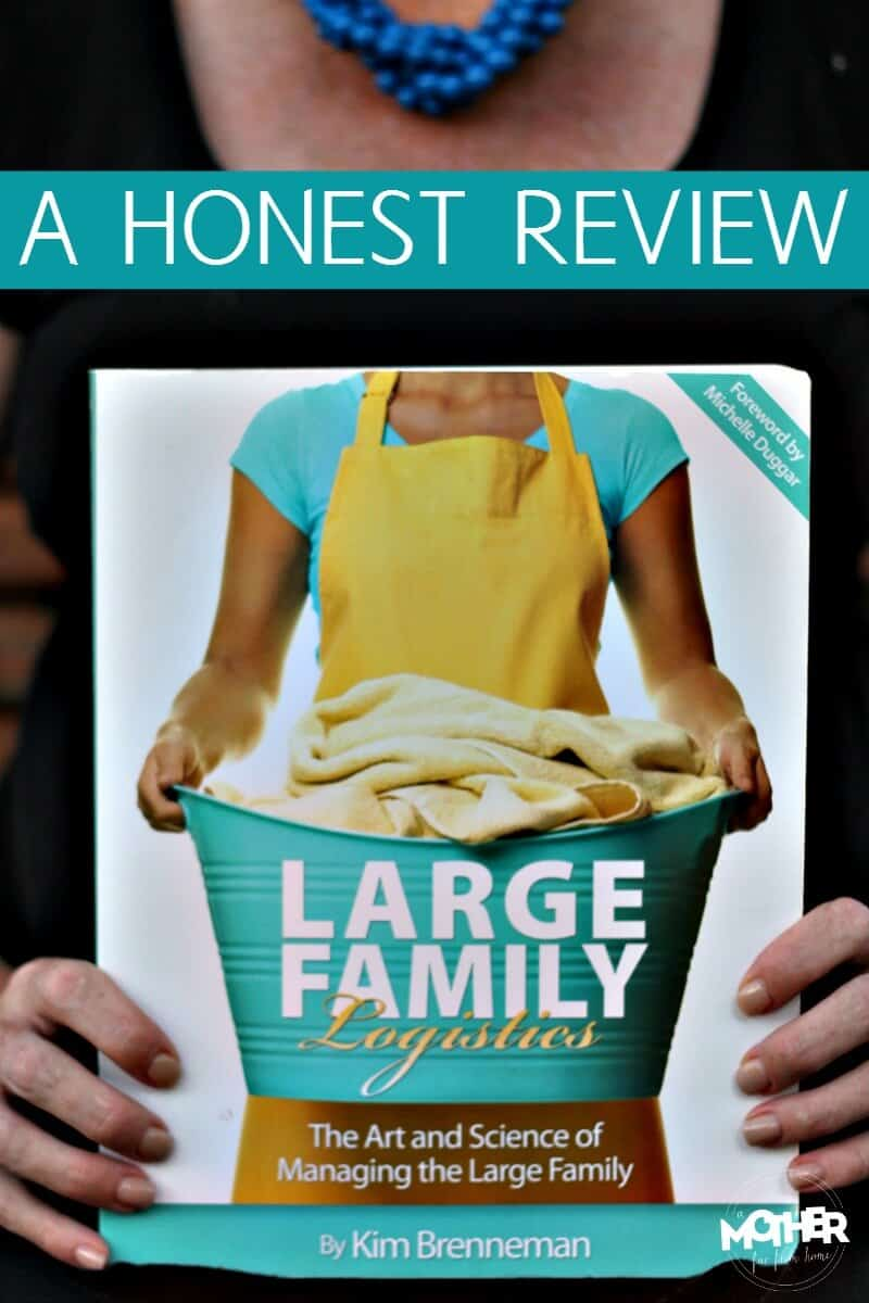 An honest review of the Large Family Logistics book review.