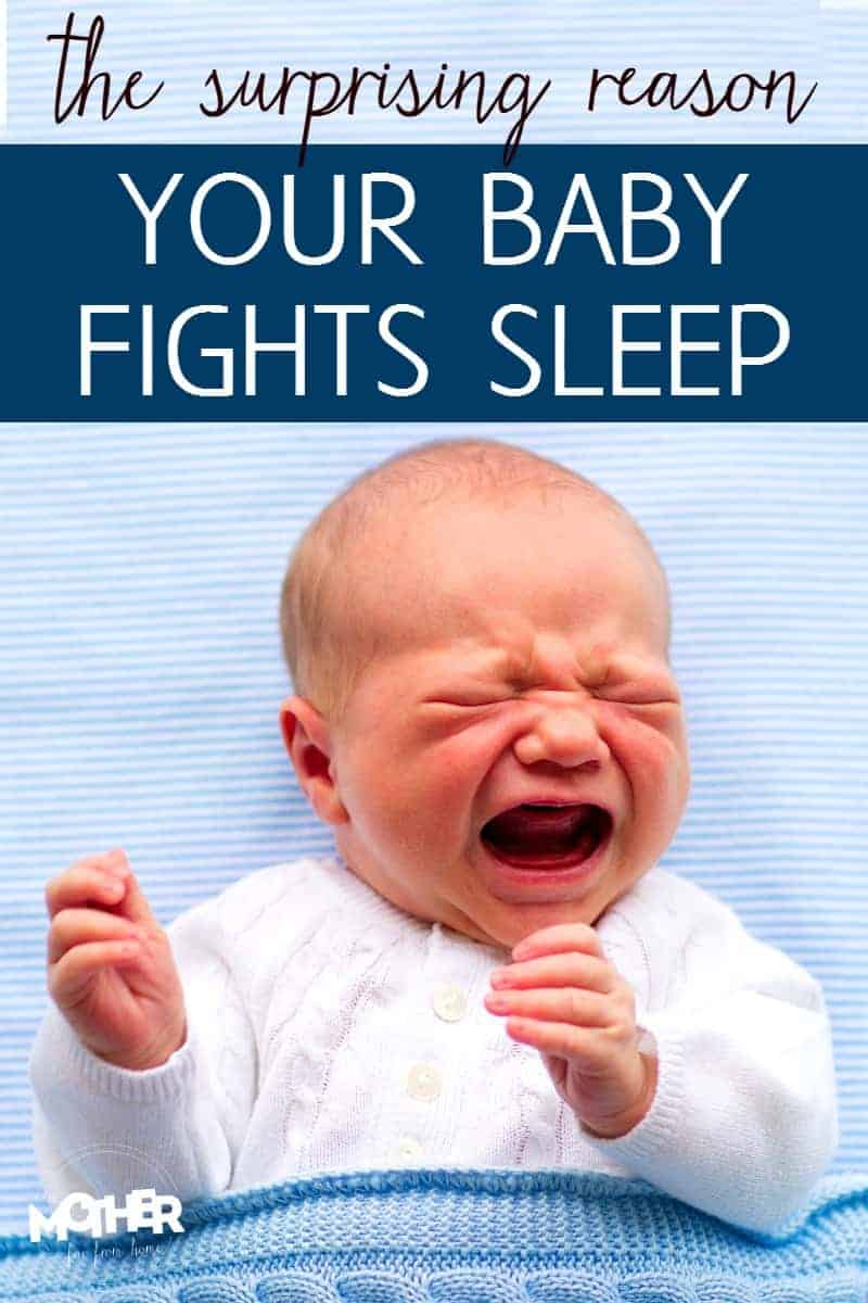 baby screaming and fighting sleep