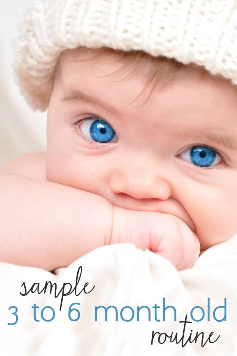 closeup of a baby's face