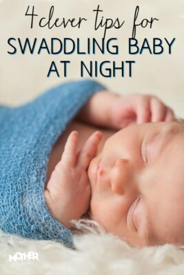4 insanely clever tips for swaddling baby at night