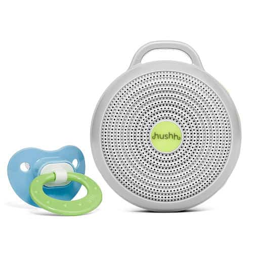 Use noise machine for baby every day.