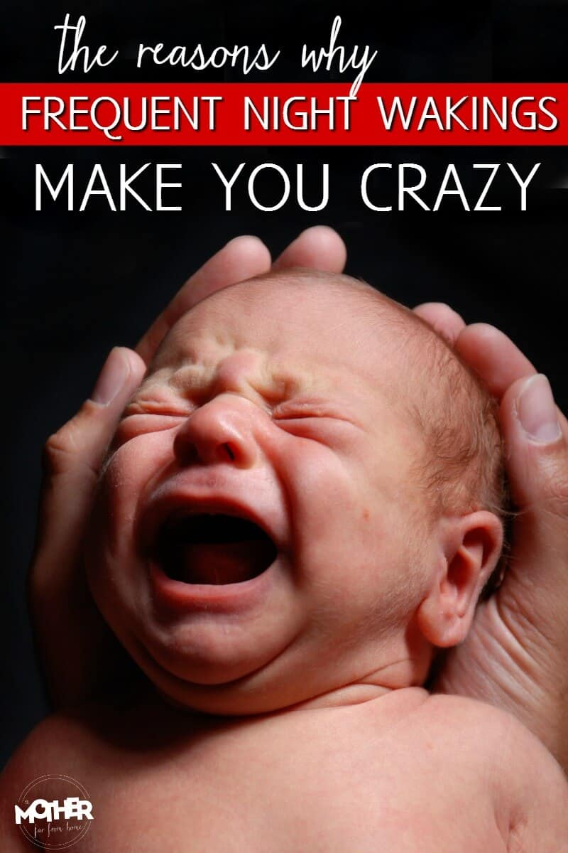 The reason your baby's frequent night wakings is making you a crazy perso