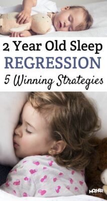 If you've got a little one going through the 2 year old sleep regression know you aren't alone. Here are some common culprits and strategies to overcome.