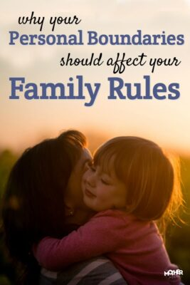 There's a reason you might not be consistent with your family rules, and it probably isn't what you think! This post will dive into personal boundaries, family rules, and strong willed kids.