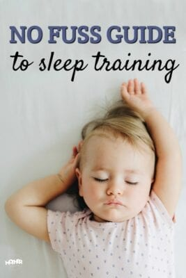 If you're ready to start sleep training your baby and want a no fuss approach to better nights, this will give it to you.