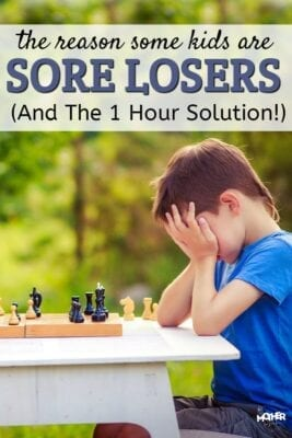 Is your child a sore loser? When they lose they are angry, sad, or whiny? This will answer the question about why it matters so much to your child to WIN not LOSE!