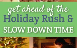 Want to slow down the holiday season and get intentional about planning NOW so you can enjoy the next few months in peace? These tips will help.