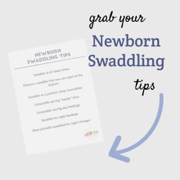newborn swaddling tips