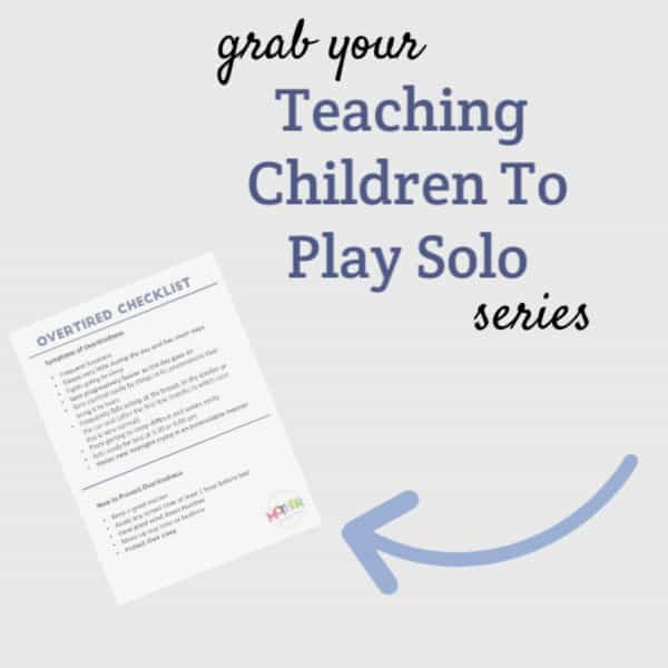 teaching children to play solo series
