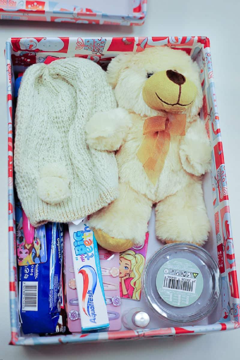 christmas box for little kid