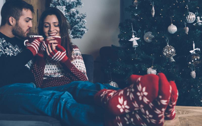 Couple are enjoying their Christmas Eve Box ideas!