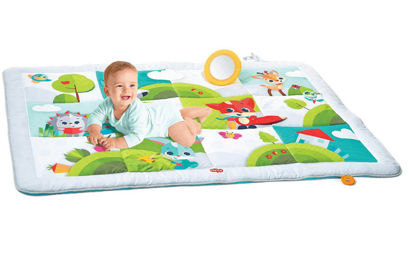 The tiny love meadow days tummy time play mat