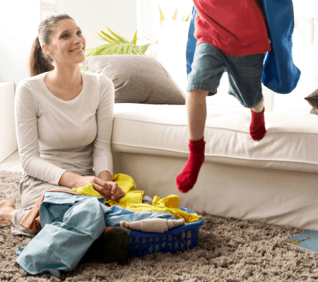 A Doable Weekly Cleaning Schedule For Busy Moms (With Printable!)